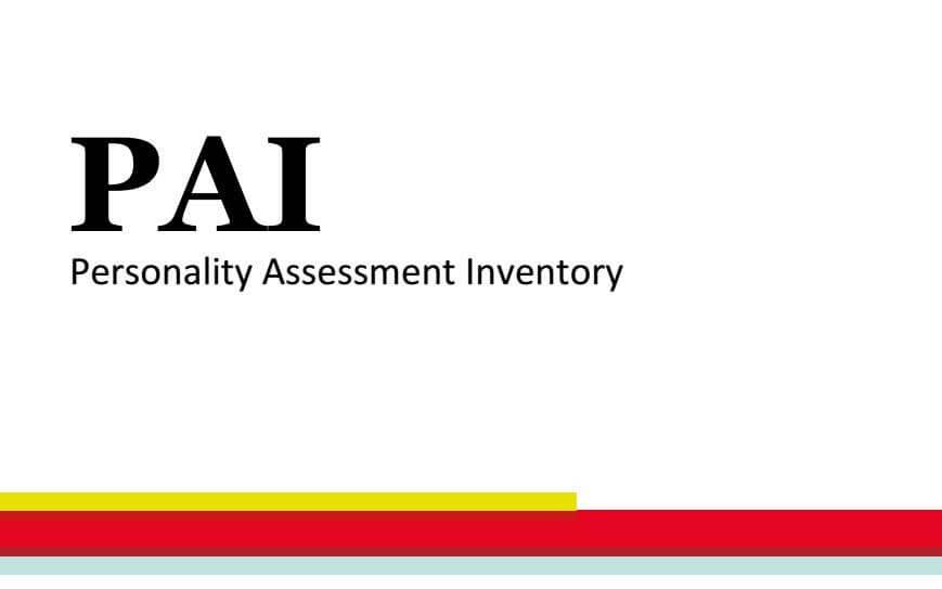 IL P.A.I. (Personality Assessment Inventory) CORSO AVANZATO